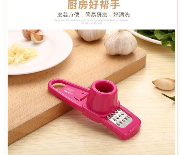 1pcs Stainless Steel Garlic Press Vegetable Kitchen Tools Gadgets