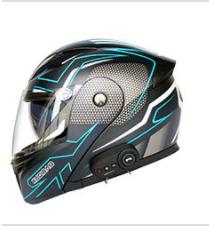 Motorcycle Bluetooth Helmet Comes with FM Radio