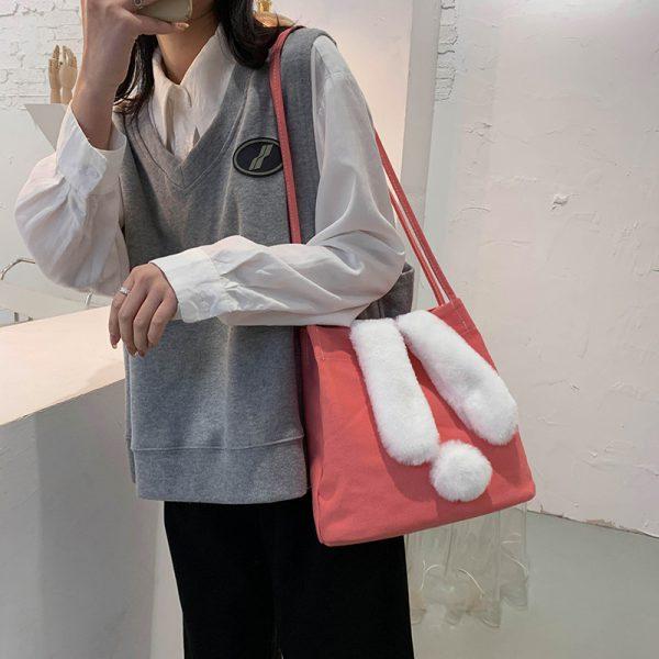 Women Canvas Handbags Large Capacity