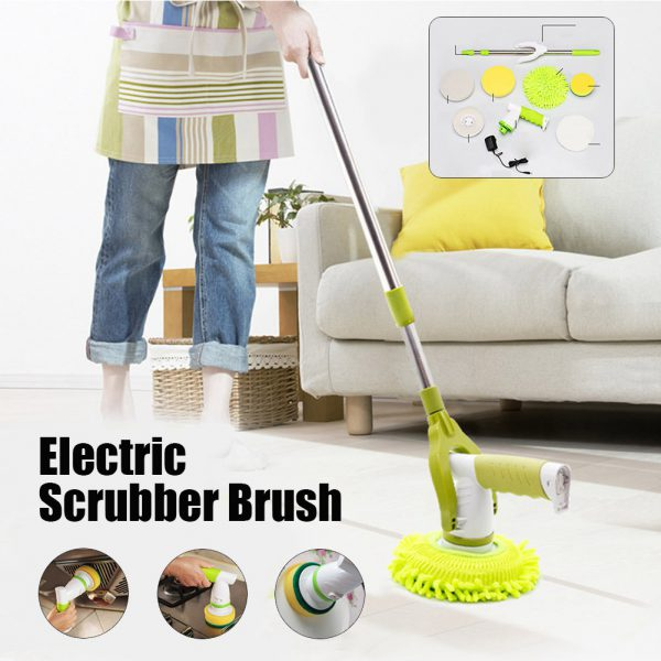 Rechargeable Electric Cleaning Brush Mop