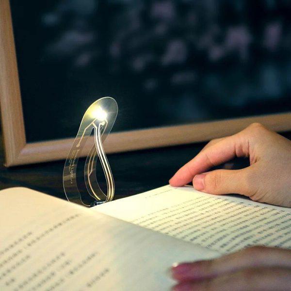 Mini Thin LED Book Light for Reading