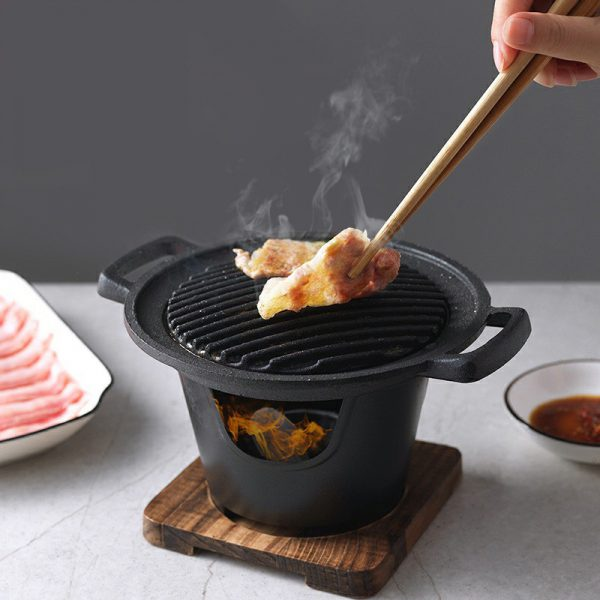 Mini BBQ Grill for in Home or Outdoor