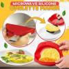 Egg Poacher Steamer Microwave Oven Silicone Omelette Mold