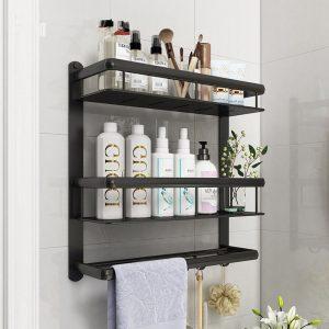 Nordic Minimalist Bathroom Vanity Shelf